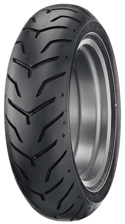 D407 TOURING TIRE WHICH IS ORIGINAL EQUIPMENT ON MANY HARLEY-DAVIDSON MODELS