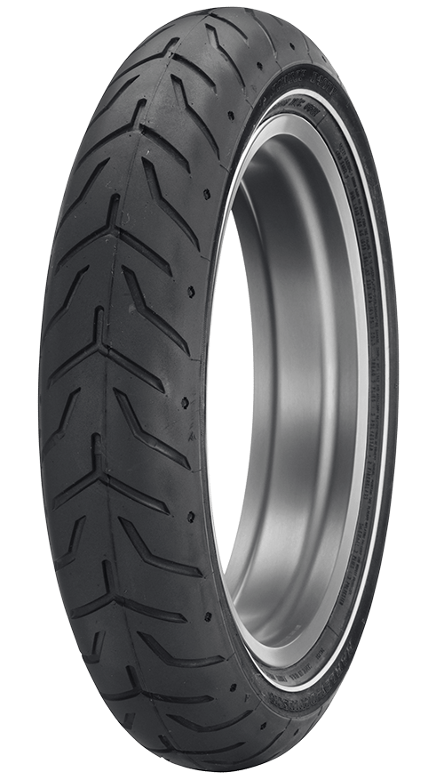D408 TOURING TIRE WHICH IS ORIGINAL EQUIPMENT ON MANY HARLEY-DAVIDSON MODELS