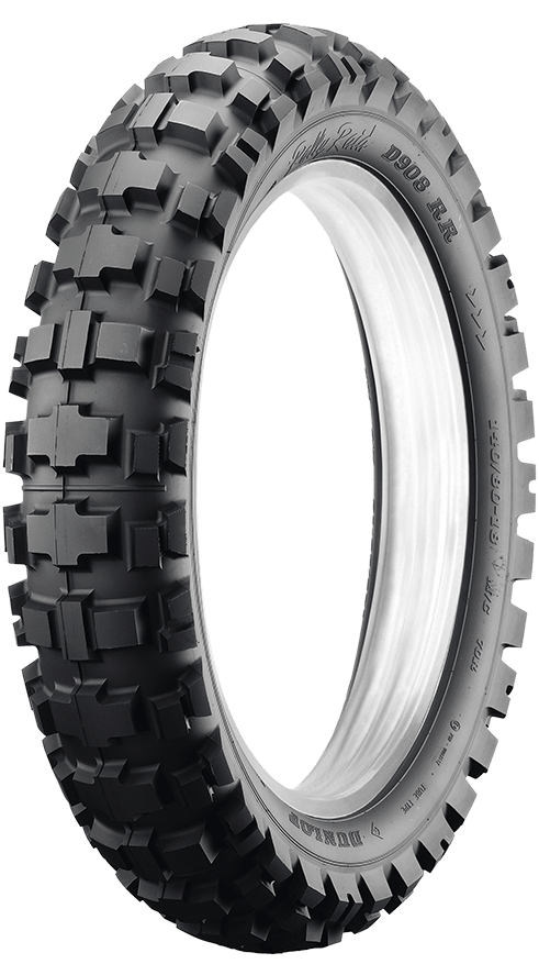 D908RR DUNLOP PERFORMANCE IN AN ADVENTURE TIRE