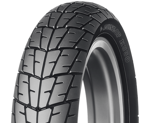 Dunlop K330 motorcycle tire overview