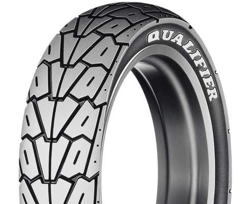Dunlop K525 motorcycle tire overview