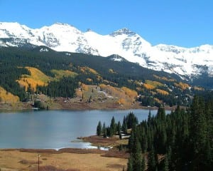 Trout Lake, San Juan Skyway, CO.