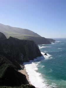 Route 1 – Big Sur Coast Highway, CA. Photo: ©2005 Jill Foster