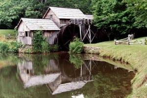 Mabry Mill, Blue Ridge Parkway, VA. Photo: 2006 Bob Ward