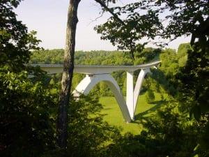Double Arch Bridge, Natchez Trace Parkway, TN. Photo: Brian Crow