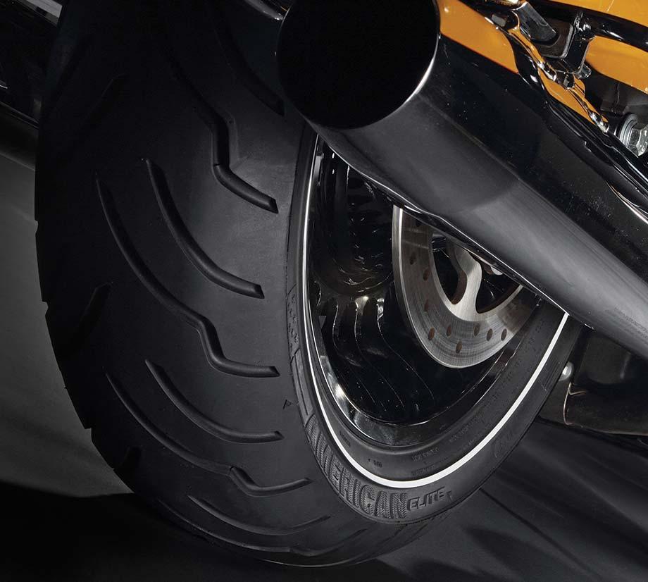 Dunlop K Harley Davidson Motorcycle Tire