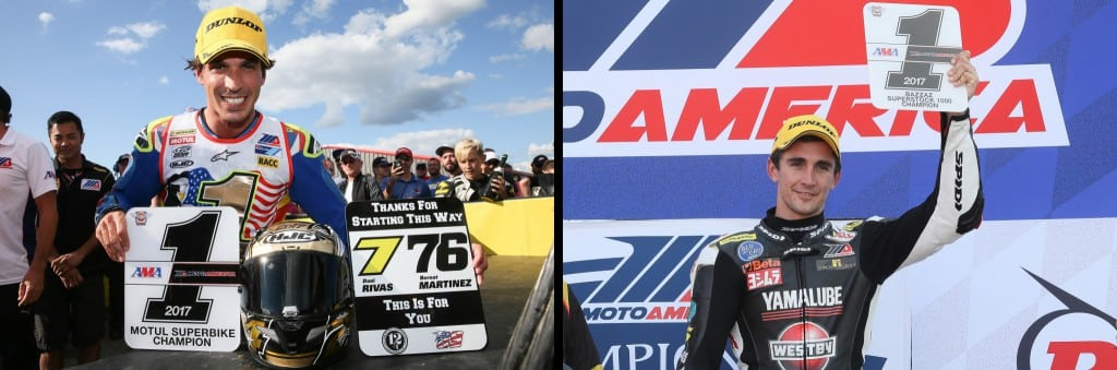 Elias and Scholtz Win MotoAmerica Titles in New Jersey