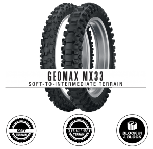 Dunlop's All-New Geomax MX33