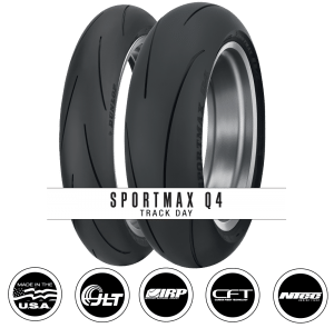 DUNLOP EXPANDS SPORTMAX LINE WITH THE ADDITION OF THE TRACK-DAY HIGH-PERFORMANCE Q4