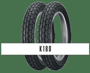 Dunlop K180 Motorcycle Tires  MODERN PERFORMANCE