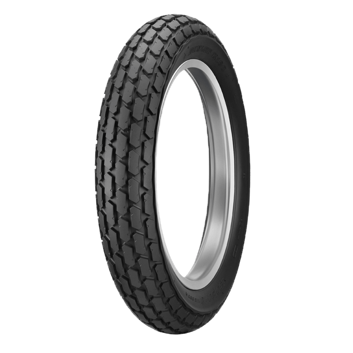 Dunlop K180 is a street legal tire with a dirt track look