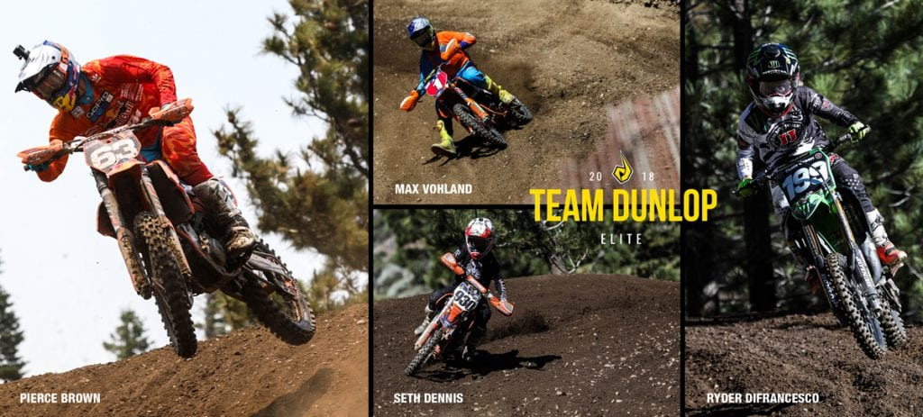 DUNLOP RIDERS CONQUER MAMMOTH MOUNTAIN