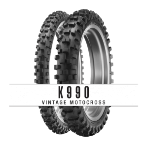 Dunlops K990 motorcycle tires offers riders more flexibility in their riding