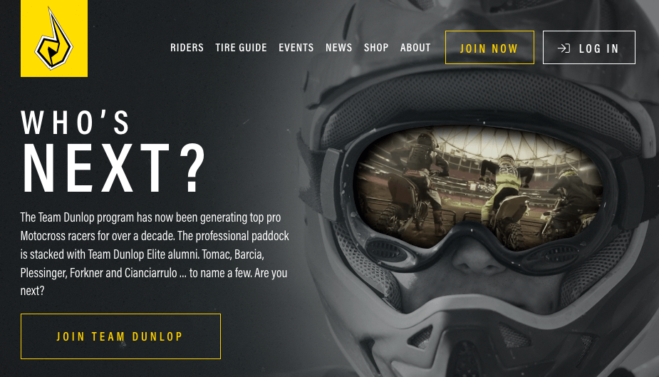 Team Dunlop Launches New Website