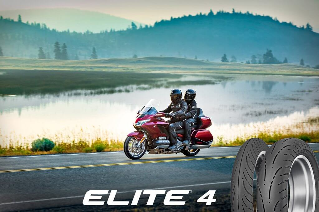 Dunlop Expands Elite 4 motorcycle tires