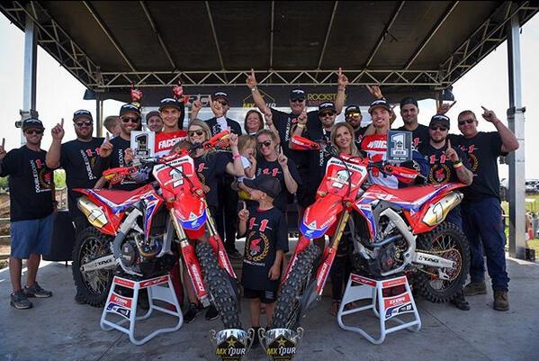 Dunlop Riders Win 2019 Rockstar Triple Crown MX Tour