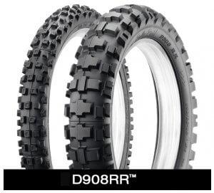 Dunlop D908 RR Motorcycle Tires