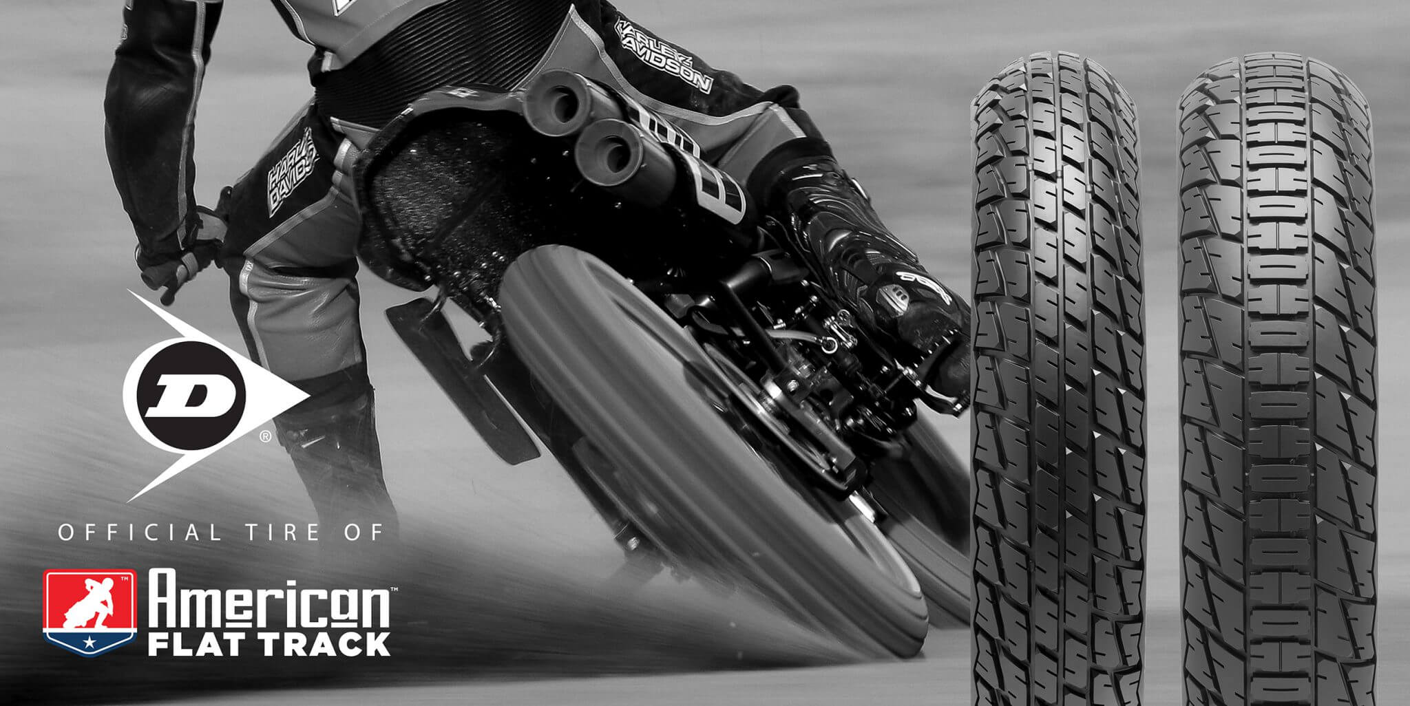 Official Tire of American Flat Track motorcycle tires