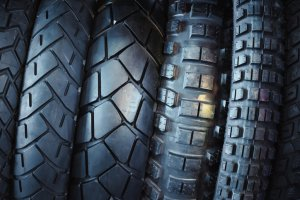 components of motorcycle tires
